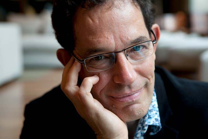 Neil Turok. Photo by Deb Baic, The Globe and Mail.