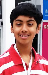 SPS member Pranav Sivakumar, a junior at the Illinois Mathematics and Science Academy (IMSA).