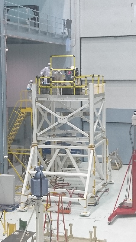 Cleanroom Laser Experiment