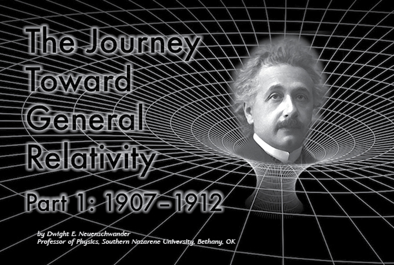 The Journey Toward General Relativity. Image by Matt Payne