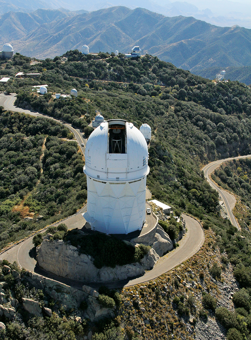 Kitt Peak Aerial. Photo by P. Marenfeld
