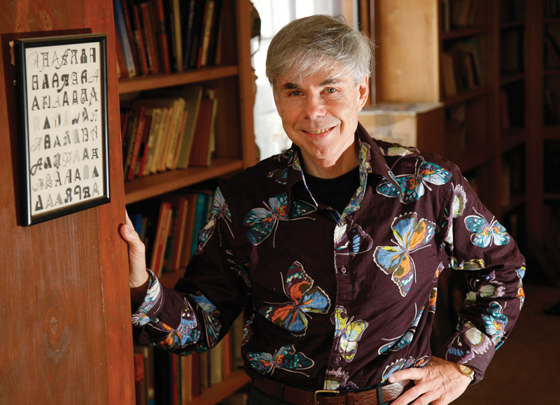 Douglas Hofstadter. Photo courtesy of Douglas Hofstadter.
