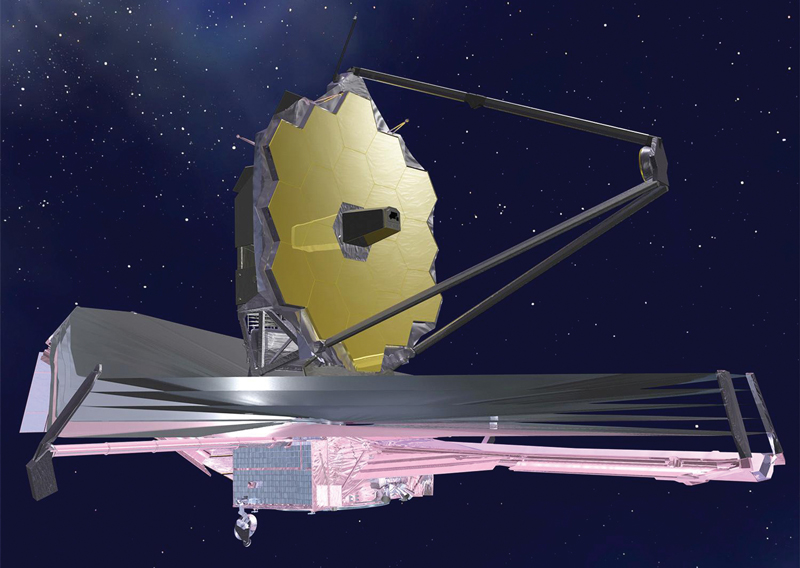 As mission head at STScI, I was responsible for developing the science and operations center for the James Webb Space Telescope. Photo courtesy of NASA.