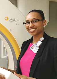 Medical physicist Jasmine Oliver. Photo courtesy of Jasmine Oliver.