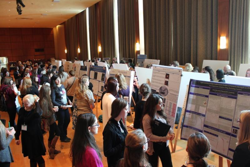 The poster session at the Penn State CuWIP. Photo by Anne- Sylvie Deutsch