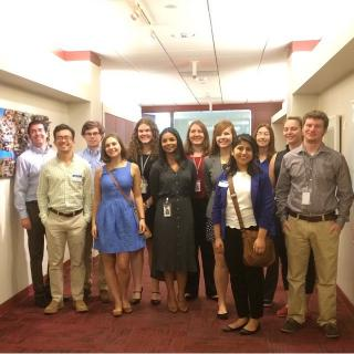 The 2015 SPS Interns.