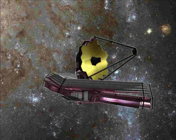 James Webb Space Telescope (model)