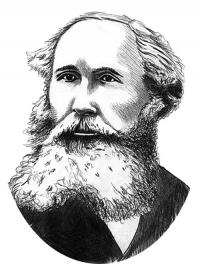 James Clerk Maxwell. Illustration by Matt Payne
