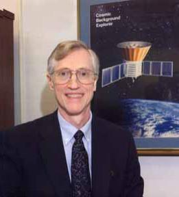 More than three decades after his botched thesis project, John Mather would have cause to smile when he received the Nobel Prize in Physics for his studies of cosmic microwave background radiation. Image credit—NASA.