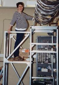 Me as a graduate student at MIT (and soon-to-be mom). My research involved x-ray instrumentation for NASA missions and the study of supernova remnants.