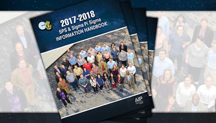 2017-2018  SPS & Sigma Pi Sigma Information Handbook