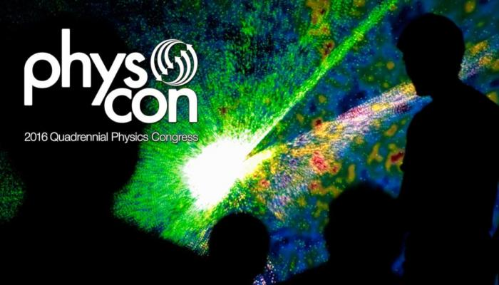 2016 Quadrennial Physics Congress
