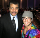 The author with Neil deGrasse Tyson.