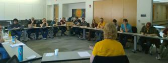 Discussion Session on what different SPS Chapters do and what works and doesn't work.