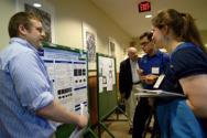 Original research being presented and judged