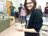 Students touring the Nanotechnology Lab
