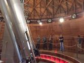 Students at Lowell Observatory touring the Clark Telescope.
