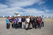 Zone meeting group photo at the VLA.