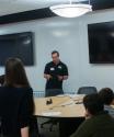 Zone 1 SPS Member giving presentation