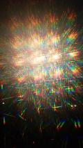 Fireworks Through Diffraction Glasses