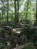 The ruins of the old Capitol building in Rock Creek Park.