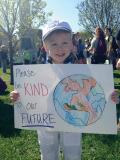 Participants included people of all ages at the Minnesota March. Photo courtesy of Kendra Redmond.