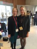 Dr. Katharine Gebbie with VCU SPS President Amy Chavis.