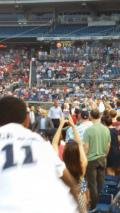 President Obama at the Congressional Baseball Game