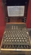 The enigma machine...