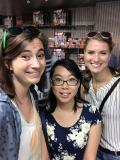 Me, Gloria Huynh, and Kery Brady before we depart ways.