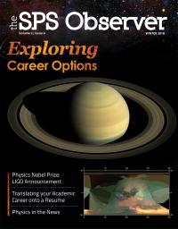 SPS Observer Winter 2018 cover
